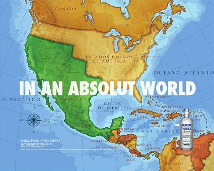 Absolut Vodka ad Mexico