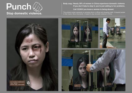 Stop Domestic violence China